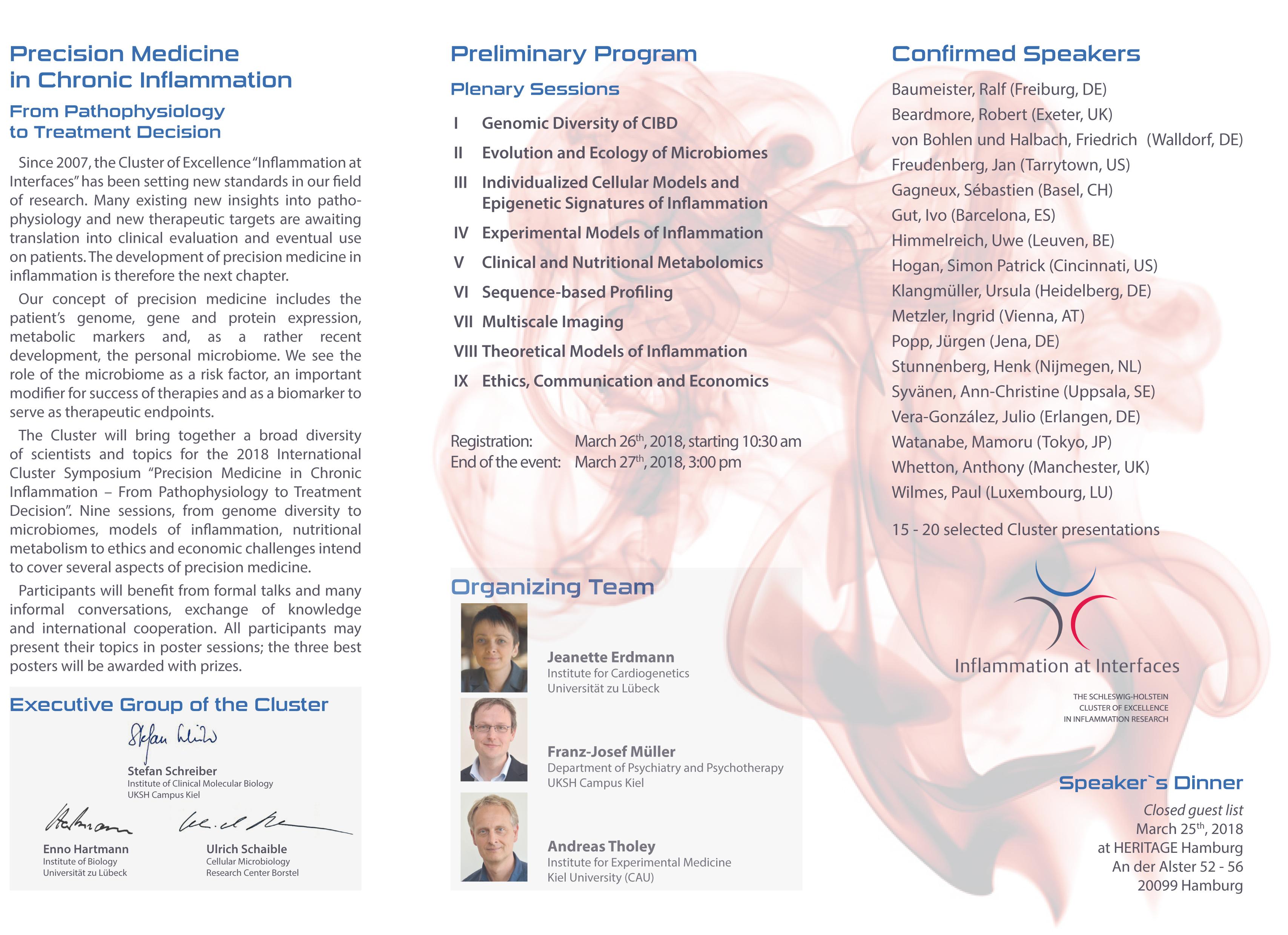 International Cluster Symposium