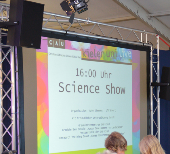 Science Show - Kiel University - Kieler Woche 2014