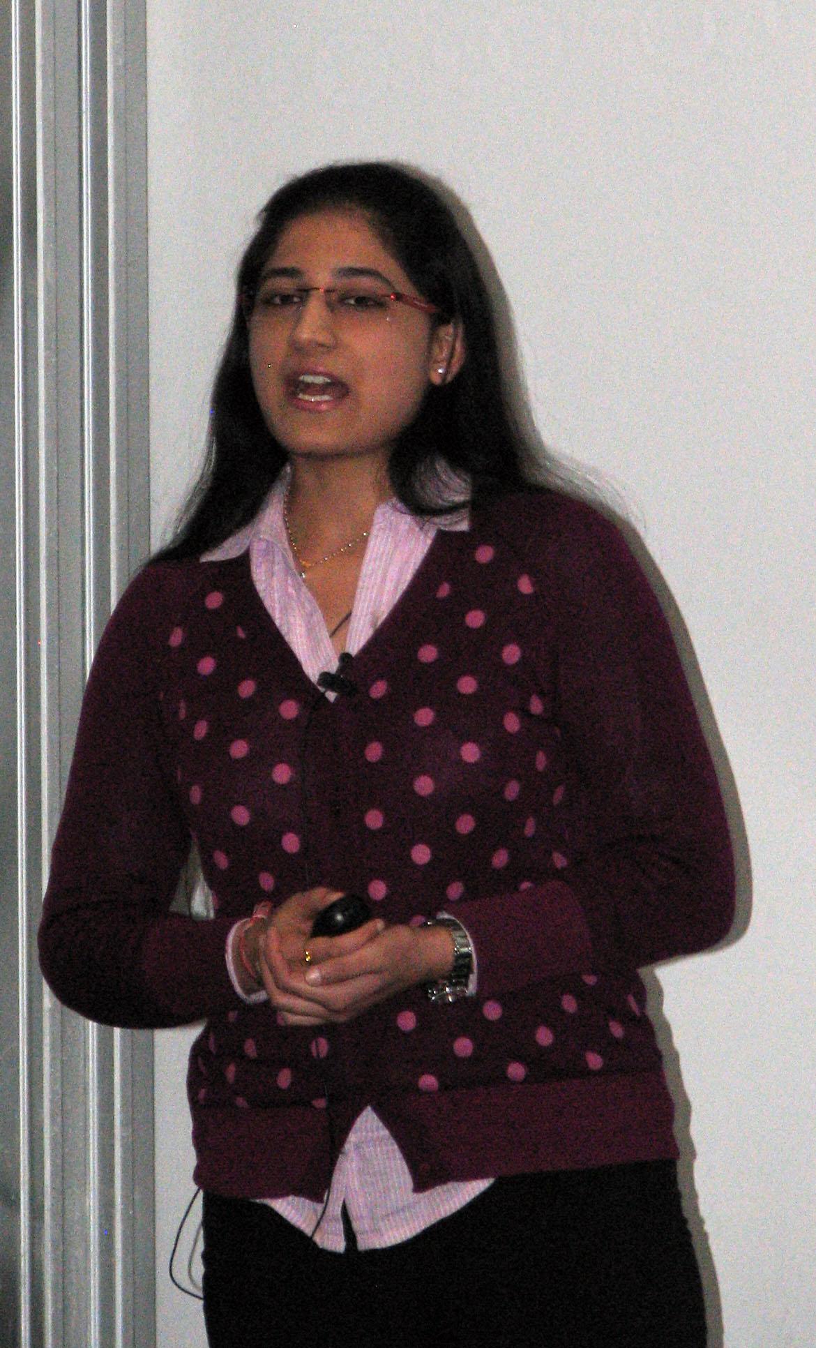 Priyadarshini Kachroo, Night of the Profs, 2013