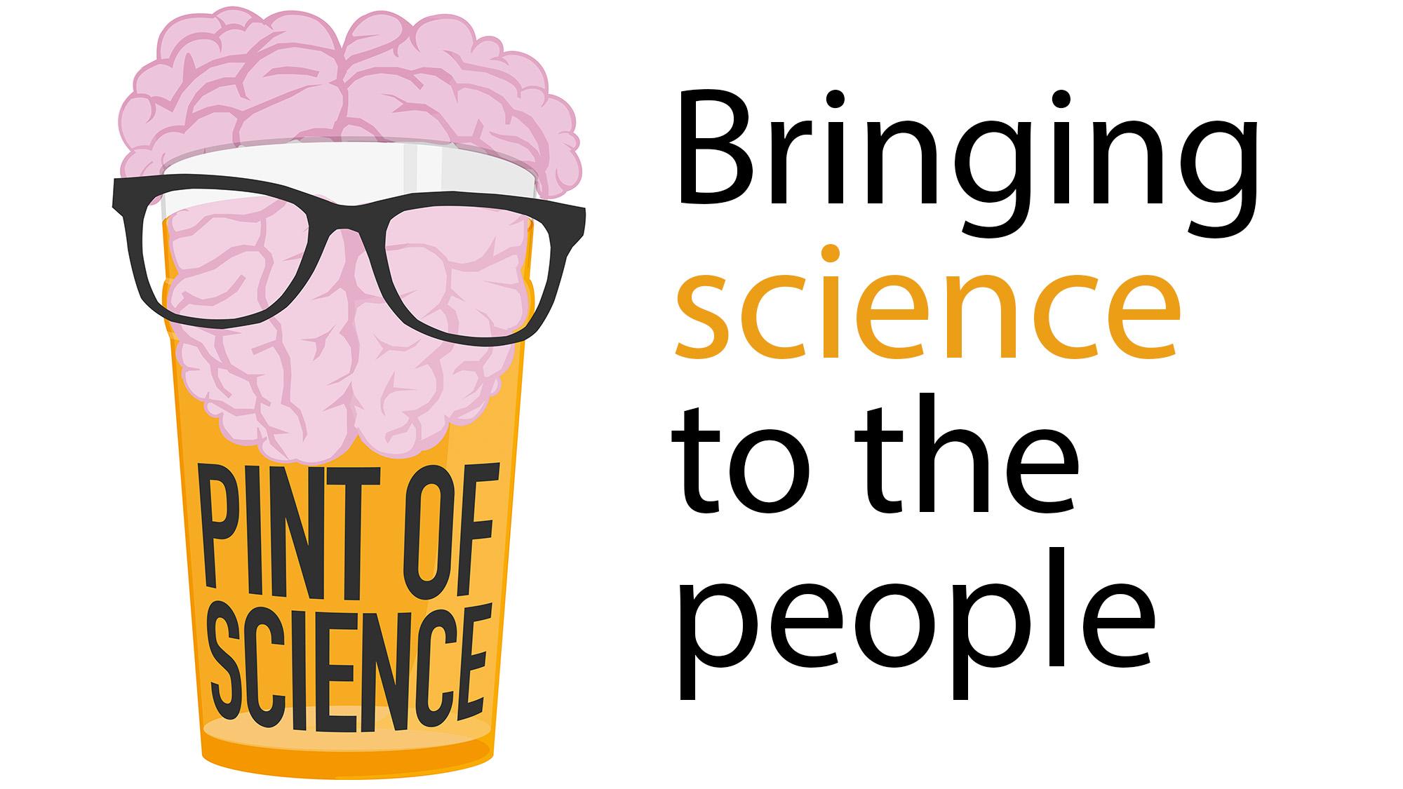 Logo pint of science