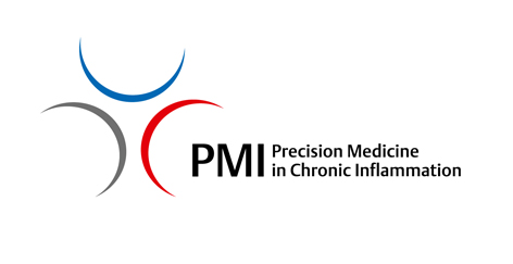 Logo Cluster of Excellence Precision Medicine in Chronic Inflammation PMI, University of Kiel