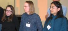 Dr. Sandra Freitag-Wolf, Dr. Silke Szymczak and Priyadarshini Kachroo