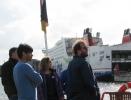 Opening event International RTG Symposium on the paddle steamer Freya